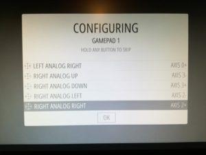 configurazione pad retropie
