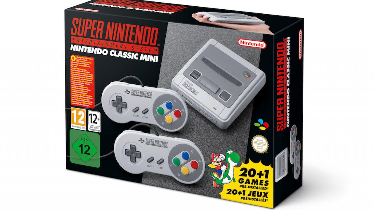 Nintendo ufficializza snes mini per settembre
