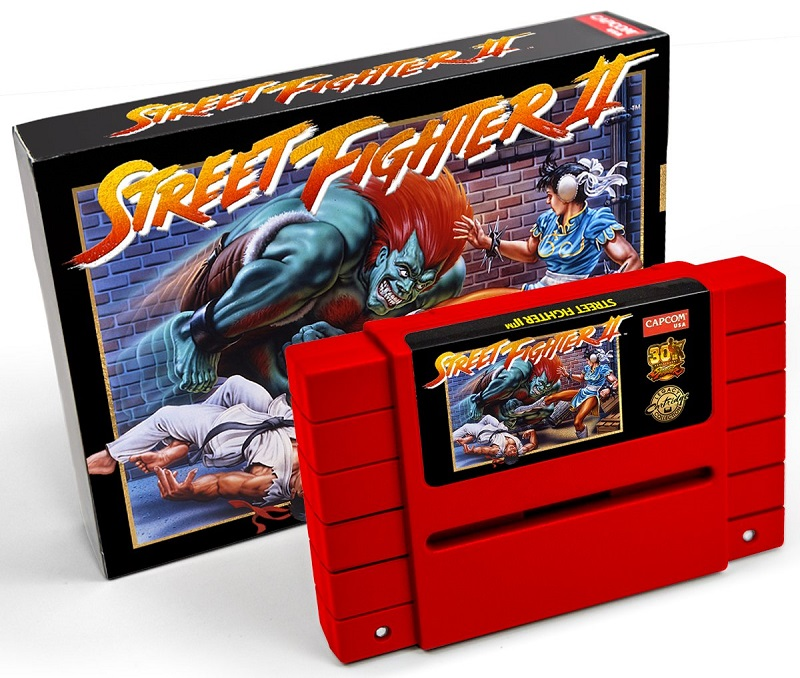 ristampa street fighter 2