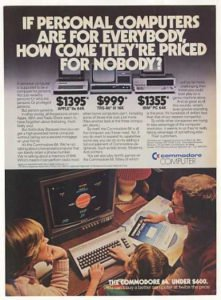 pubblicità commodore64