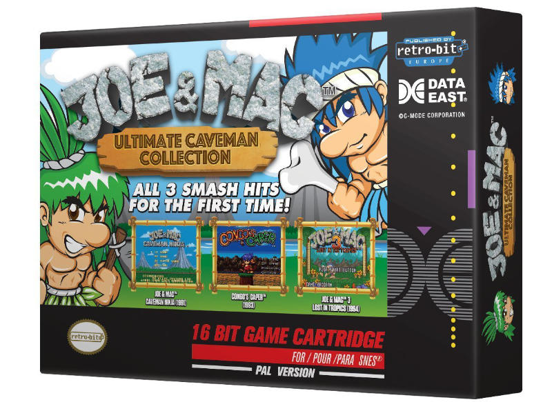 Joe and Mac Ultimate Caveman Collection PAL Version SNES