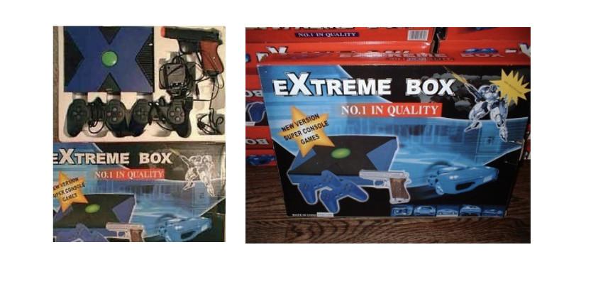 extreme box console