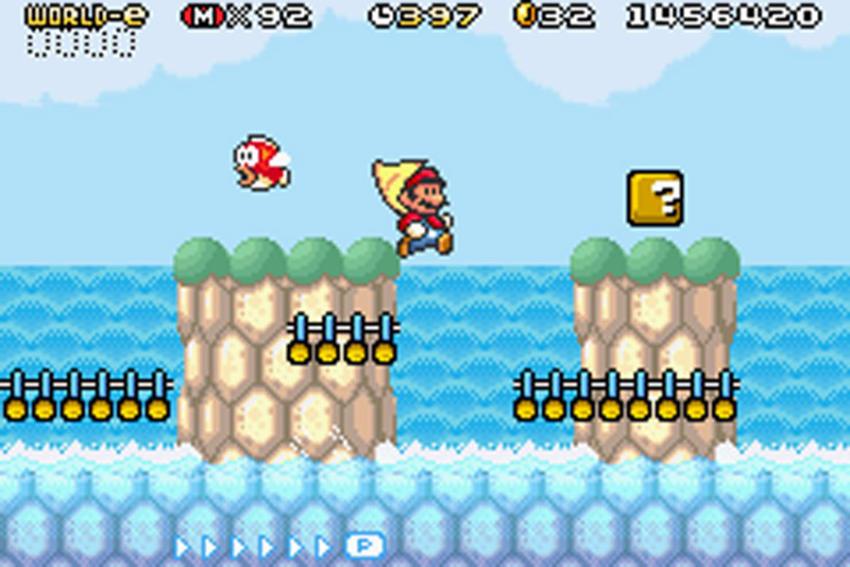 Super Mario Bros advance 4