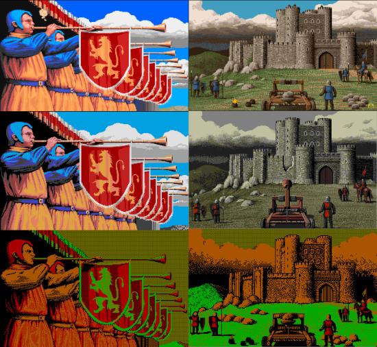 Defender of the Crown (Amiga, Atari ST, DOS)