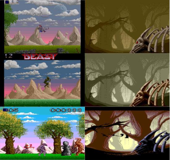 Shadow of the Beast (Amiga, Atari ST, Turbografx CD)