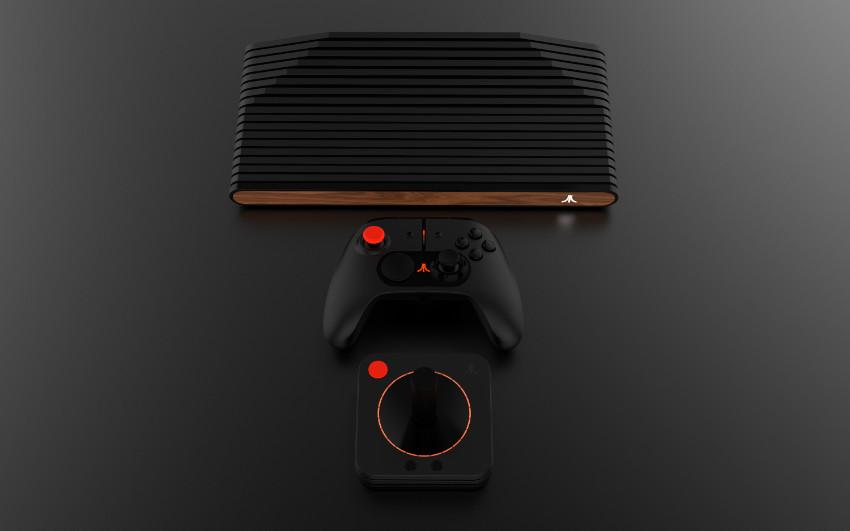 Atari vcs con pad e joystick