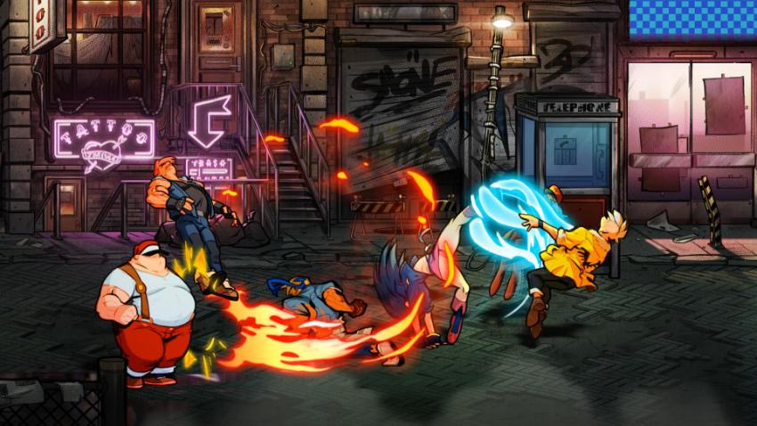 street of rage 4 in produzione