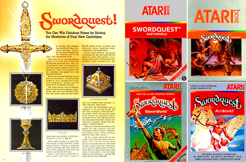 Swordquest il gioco con montepremi reale