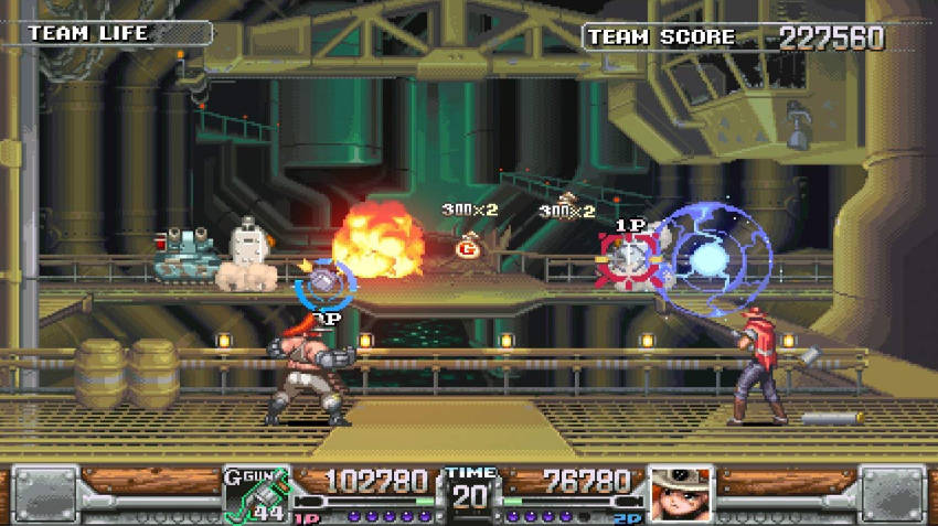 Wild Guns Reloaded switch
