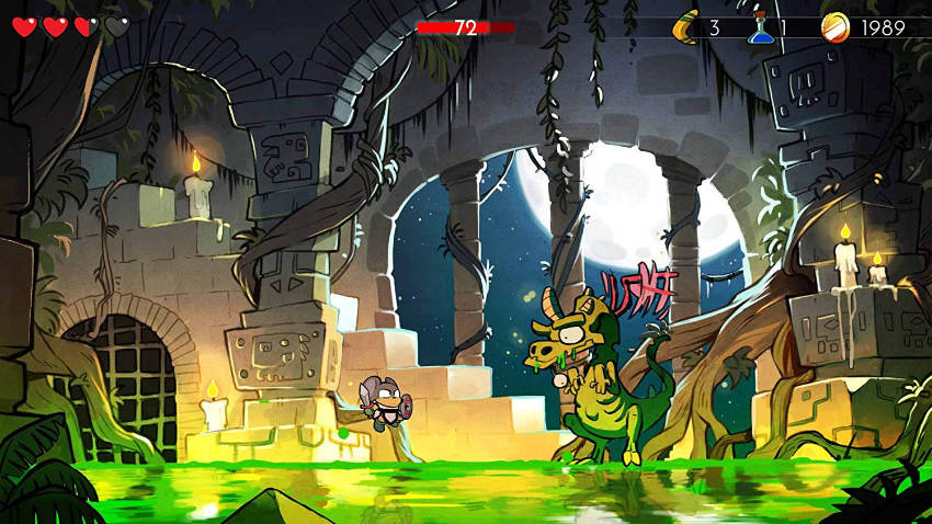 wonder boy dragon's trap switch