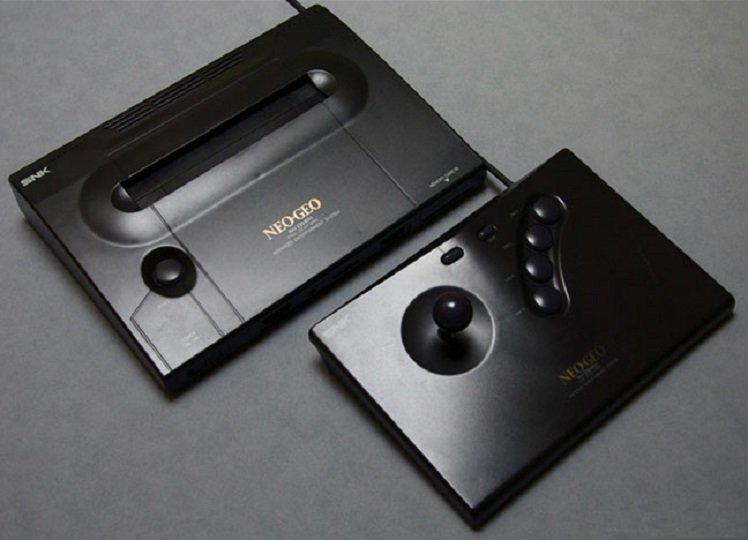 Neo Geo AES con arcade controler