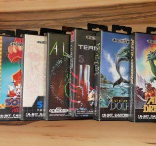 I giochi rari e costosi per Sega Mega Drive